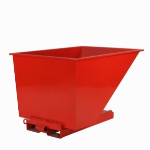 TIP Container, 1700x1215x1045, 2000kg, model 1100, rød