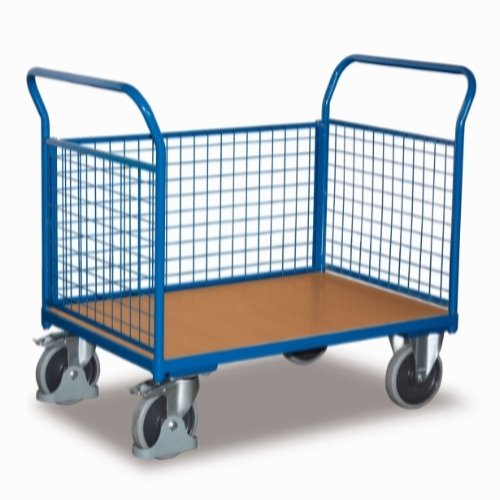 Dolly trolley, 3 sider, 850x476, 400kg