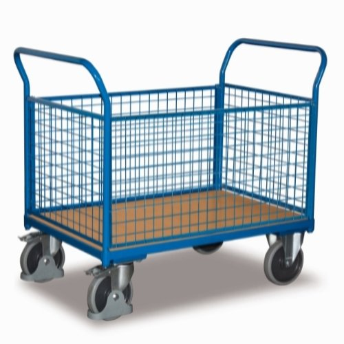 Dolly trolley, 4 sider, 850x452, 400kg